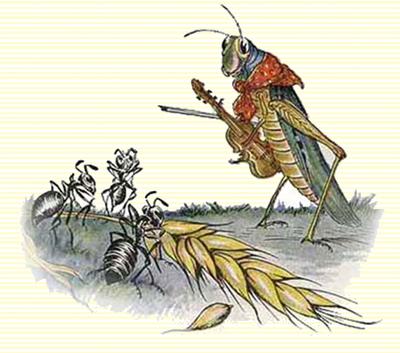 Bad ass grasshoppers